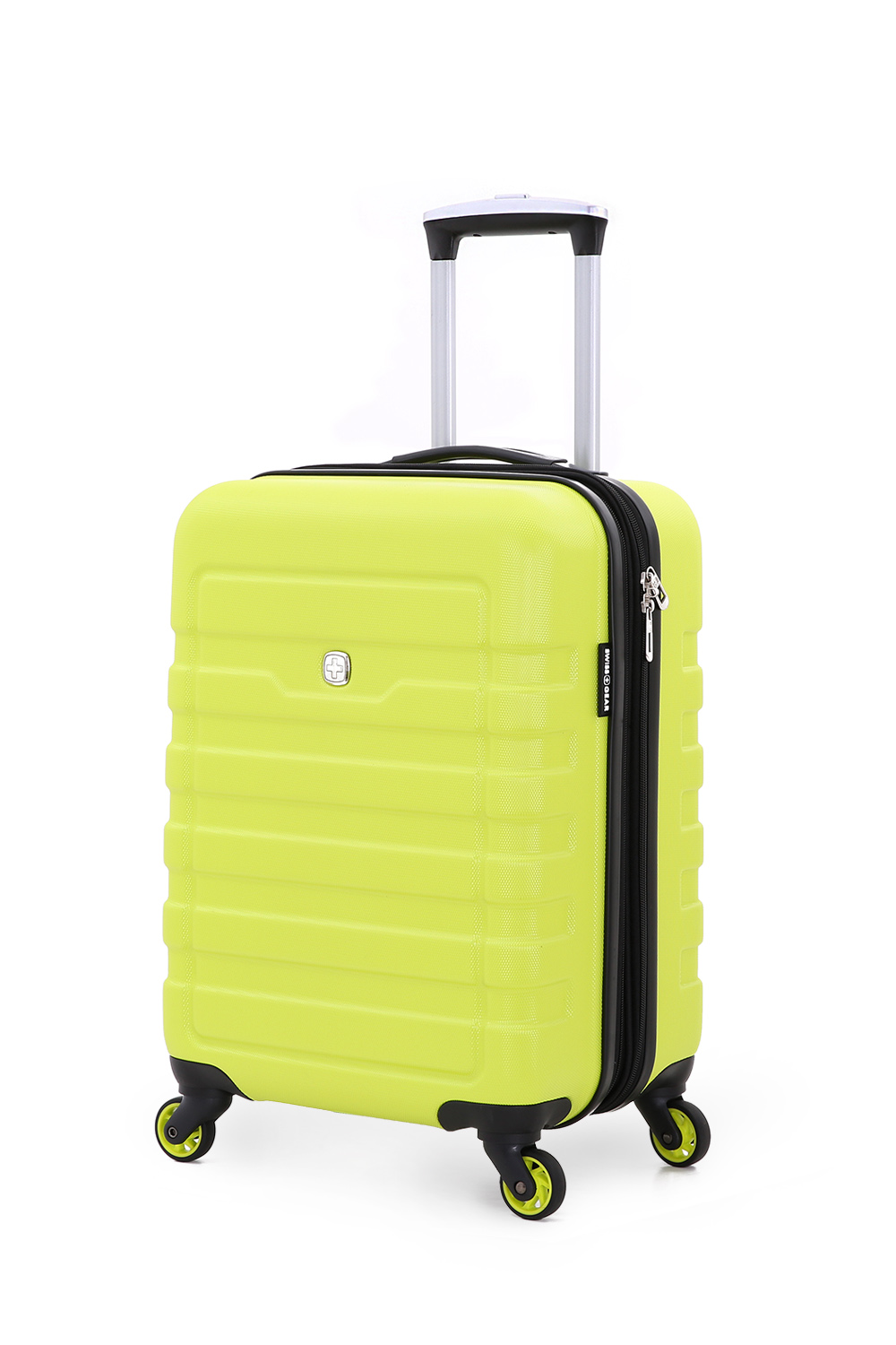 6581 19 inch Expandable Hardside Spinner – Yellow/Green