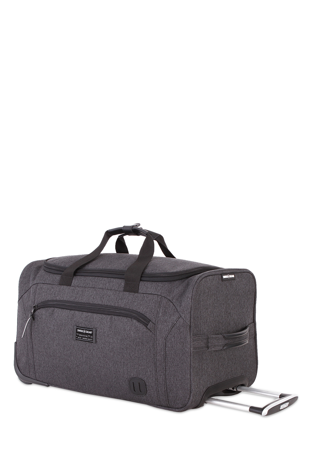 Online Exclusive Swissgear 7638 Getaway 19 Rolling Duffel Bag Dark Gray