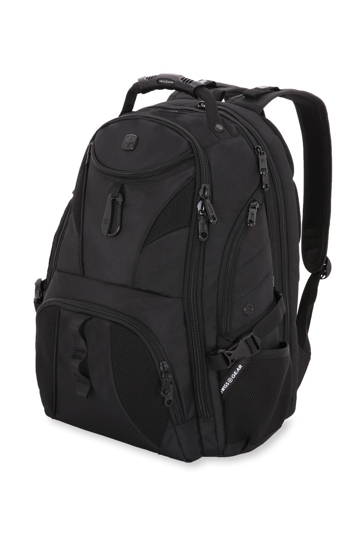 SWISSGEAR 1900 Scansmart Backpack - Black