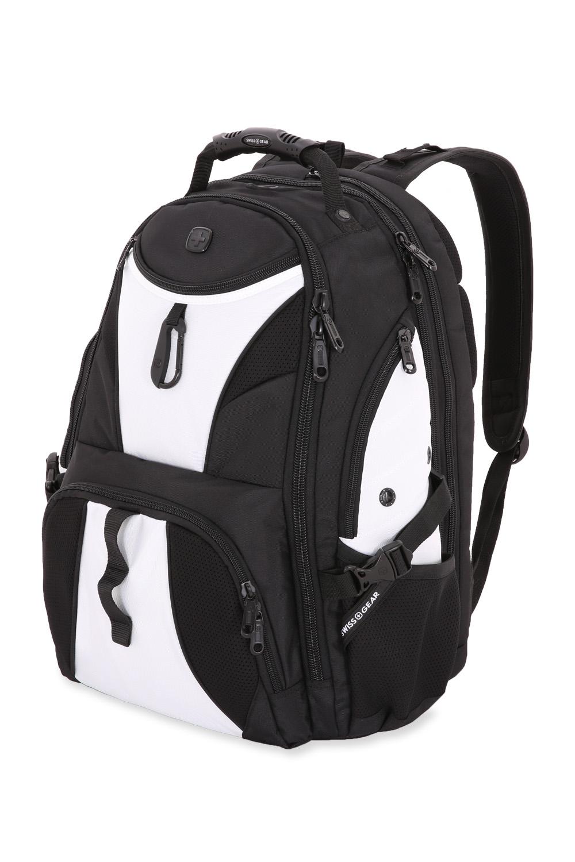 SWISSGEAR 1900 Scansmart Backpack - Black/Light Grey
