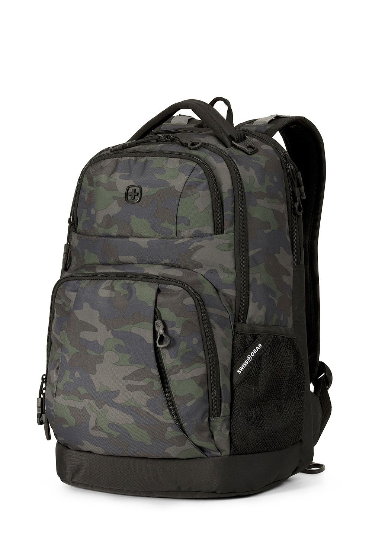 9c06078ed7 Swissgear 5698 Laptop Backpack - Basic Camo Green Black Cod