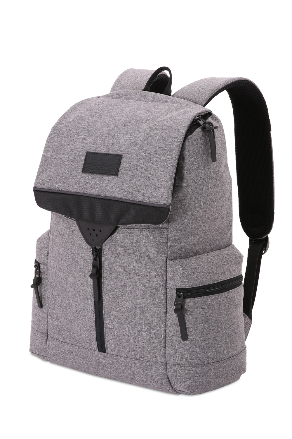 Swissgear 5753 Laptop Backpack - Dark Gray Heather/Black ...