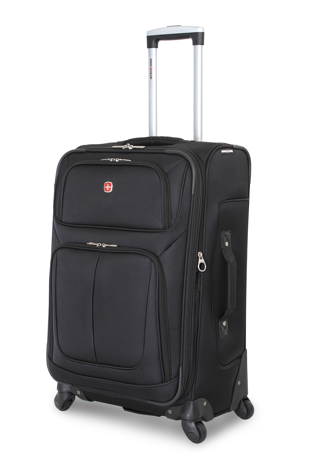 SWISSGEAR 6283 25 Expandable Spinner - Black Luggage