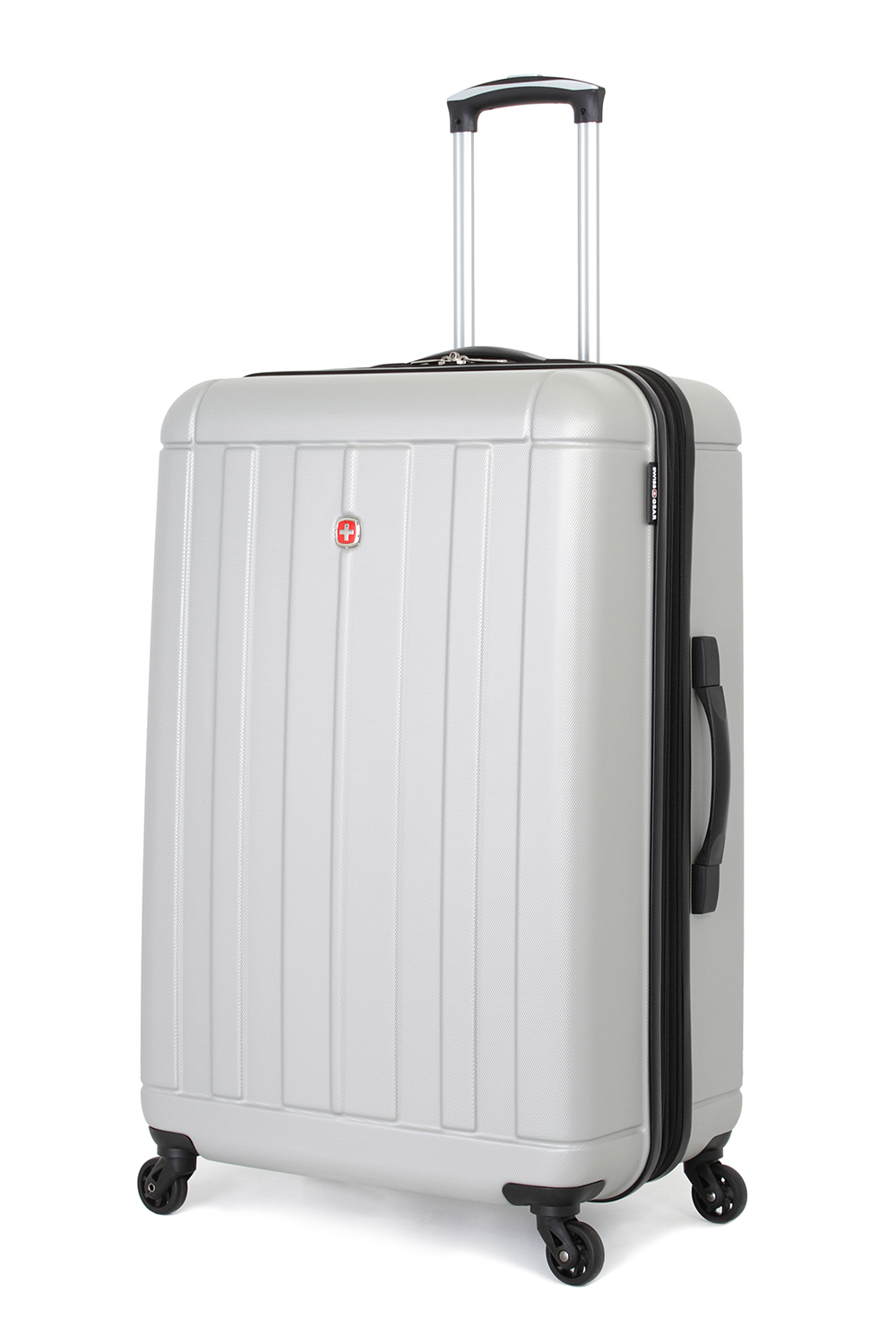 SWISSGEAR 6297 27 Expandable Hardside Spinner - Silver Luggage