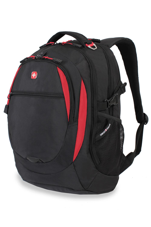 SWISSGEAR 6655 Laptop Backpack - Black/Red
