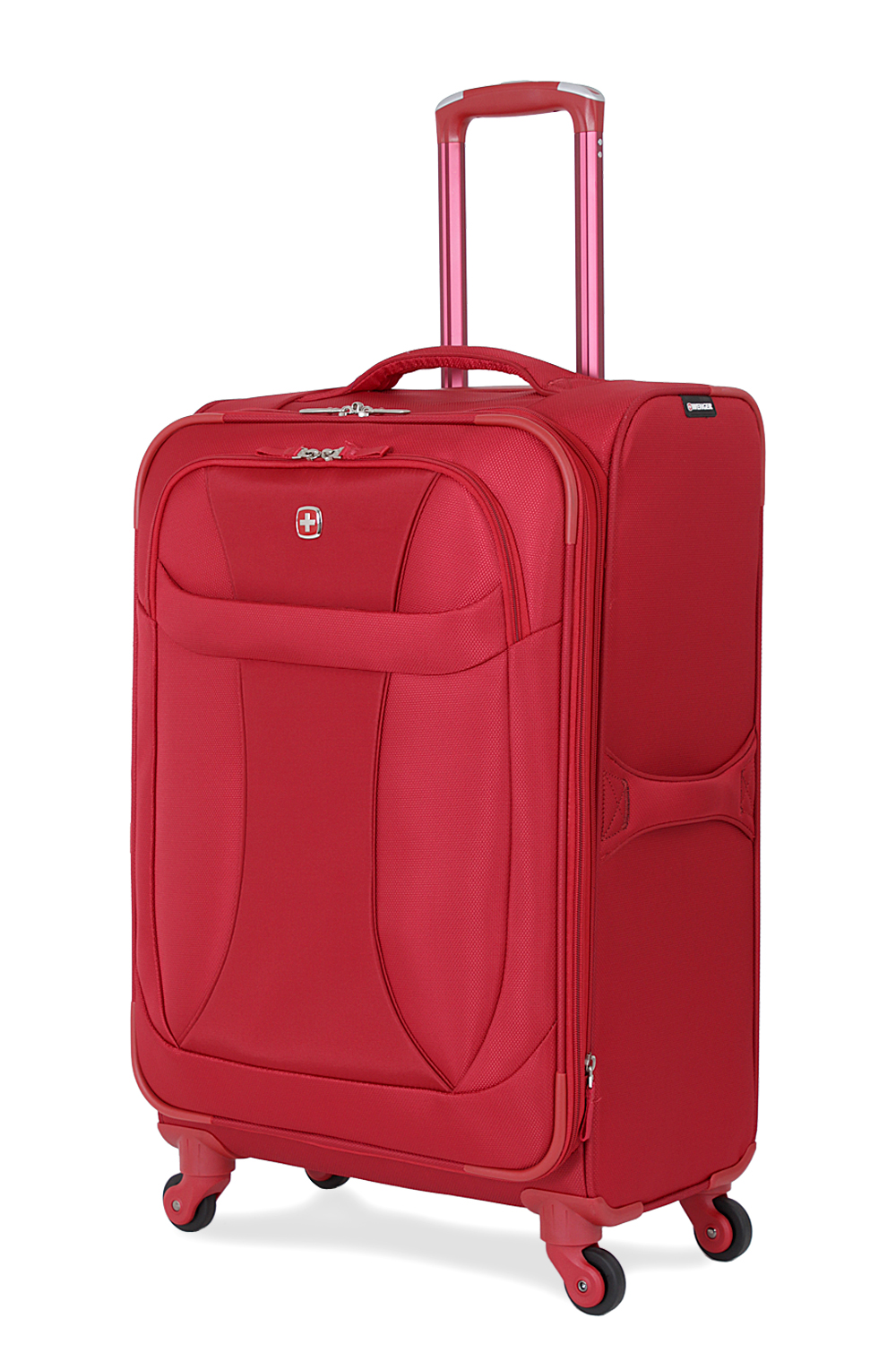 SWISSGEAR 7208 24 Expandable Liteweight Spinner - Deep Red Luggage