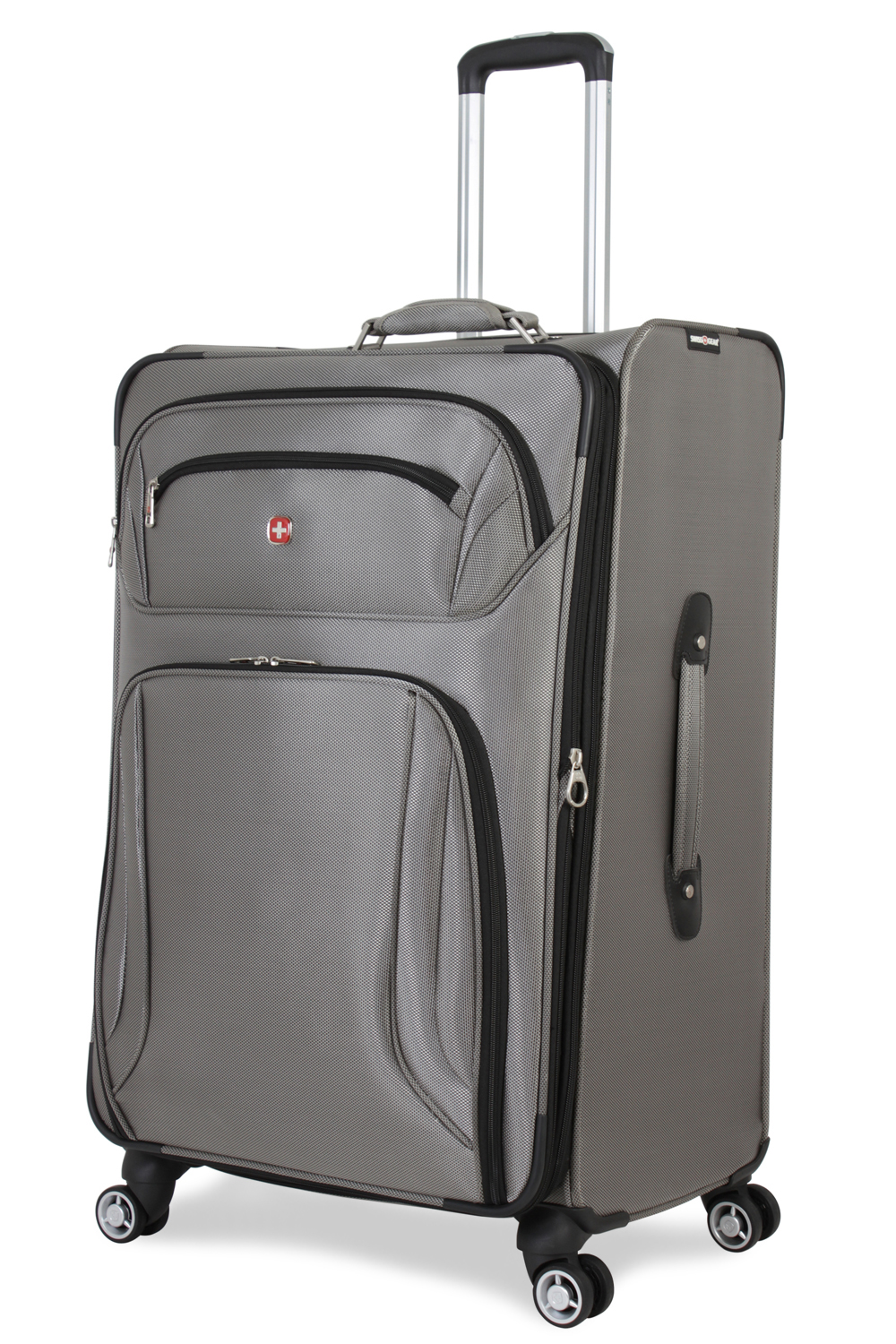 SWISSGEAR 7895 29 Expandable Deluxe Spinner - Pewter Luggage
