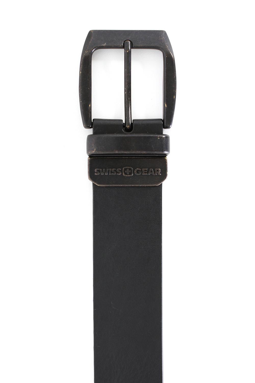 Bern Black-Brown Reversible Belt