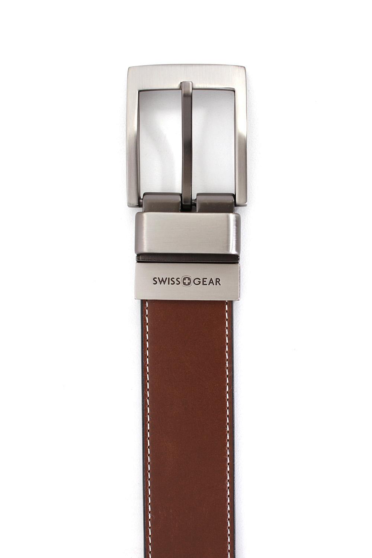 Wiler Black-Light Brown Reversible Belt