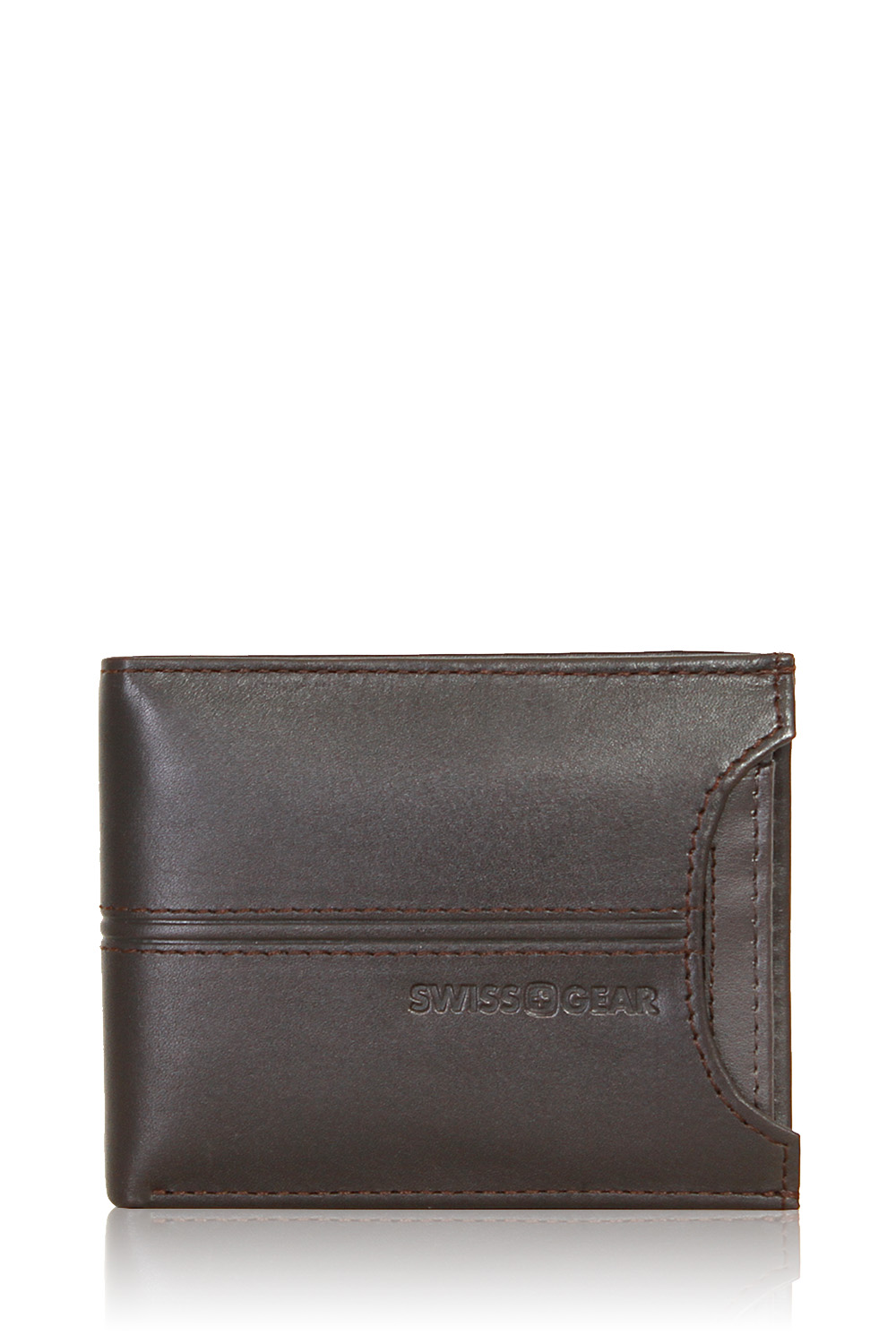 5863e897b83 Swissgear Delmont Bifold Wallet with Card Case Slide-Out