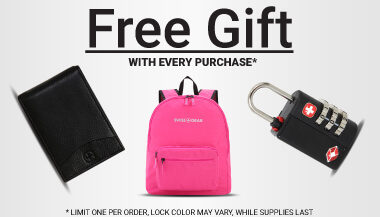 FREE GIFT With purchase. Limit one per order. While supplies last.