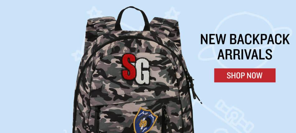 Shop new backpack arrivals