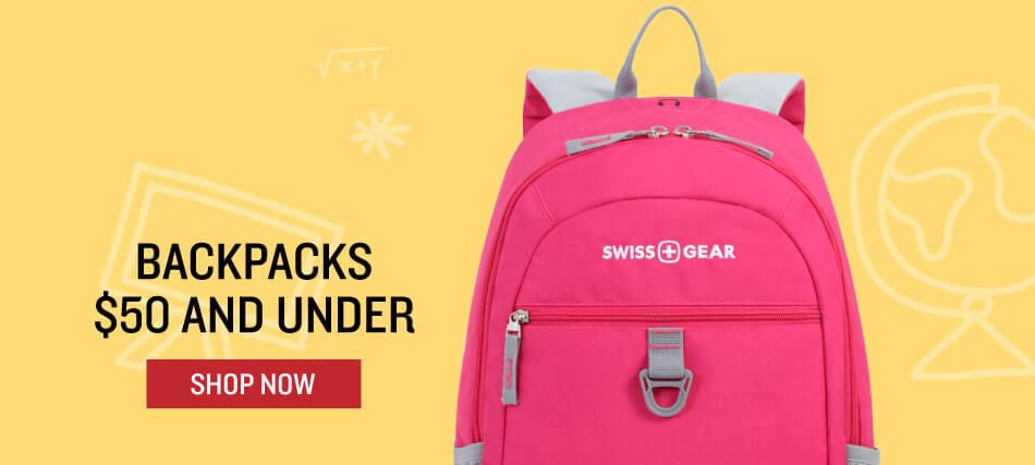 Shop Backpacks under $50