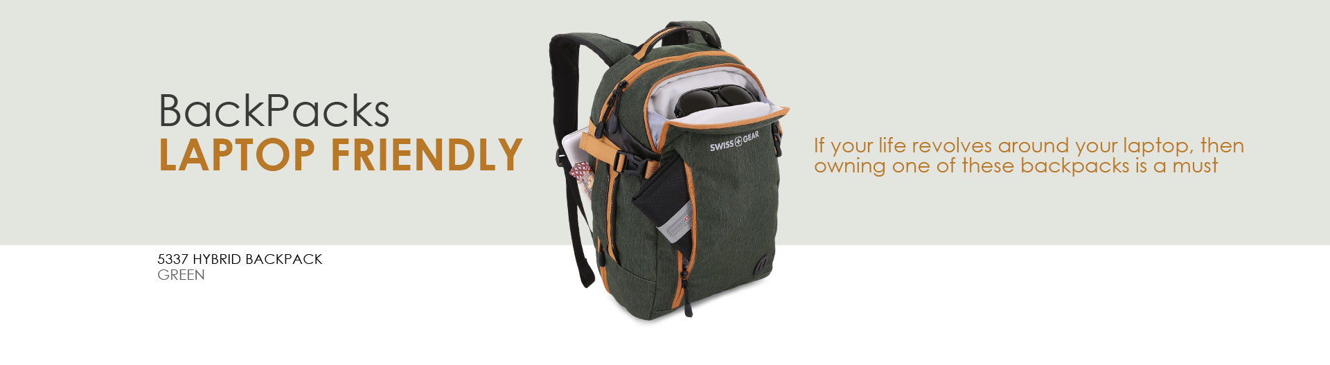 Swissgear Laptop Friendly Backpacks