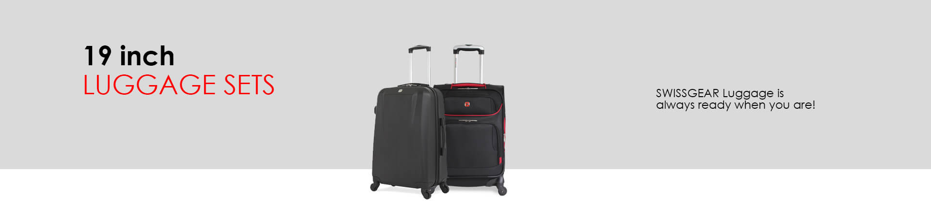 Swissgear 19 Inch Luggage Sets