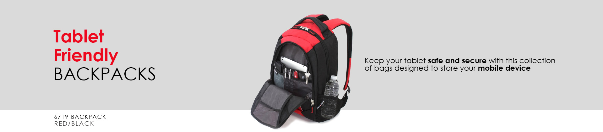 Swissgear Tablet Friendly Backpacks