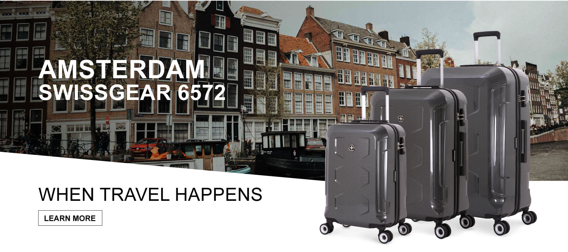 Escape to Amsterdam with SWISSGEAR