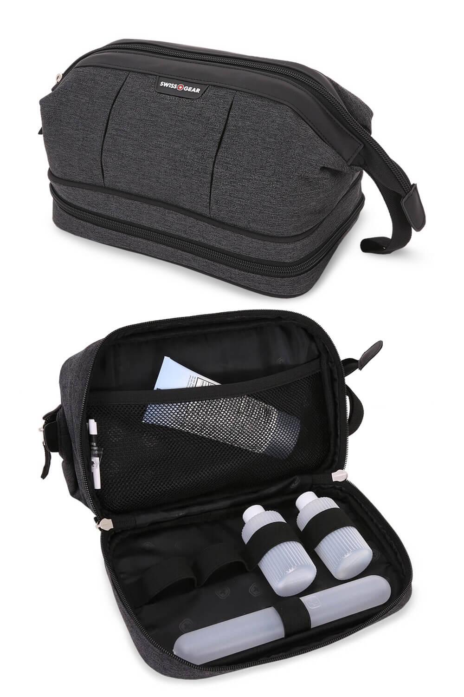 2612 Dopp Kit – Grey Heather